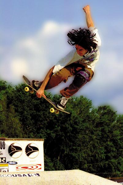 para ir al Centro de TEST de Skateboard
